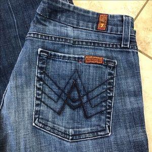 "7FAM ""A"" pocket jeans"